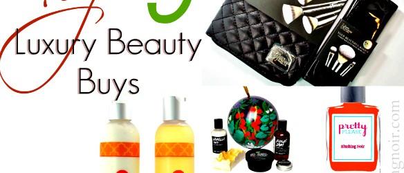 Top 9 Luxury Beauty Buys