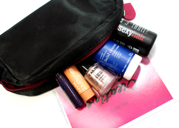 ipsy December 2014 review