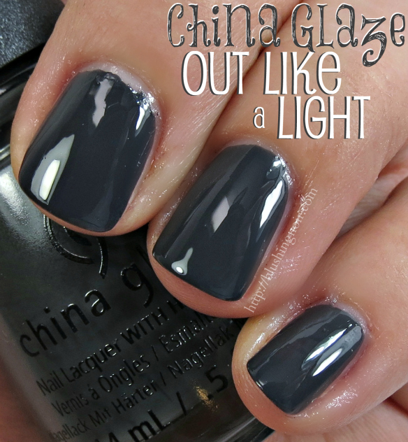 China Glaze Grey Nail Polish: China Glaze Twinkle Nail Polish Collection Swatches + Review