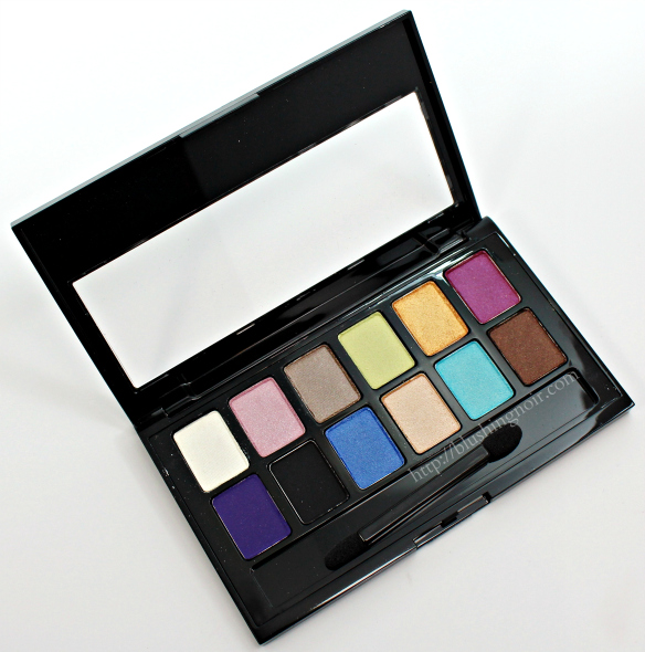 Maybelline The Brights Palette