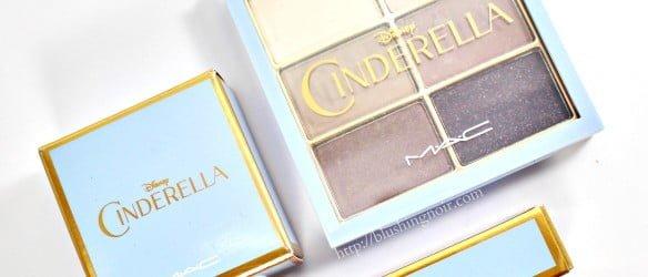 MAC Cinderella Disney makeup