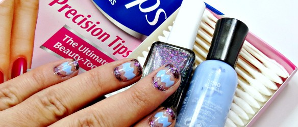 Negative Space Manicure How to