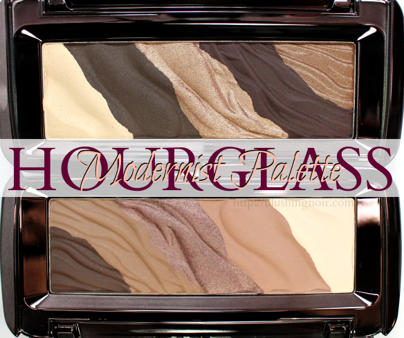 Hourglass Modernist Palette review swatches