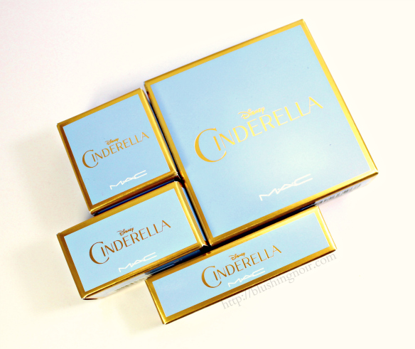 MAC Cinderella packaging