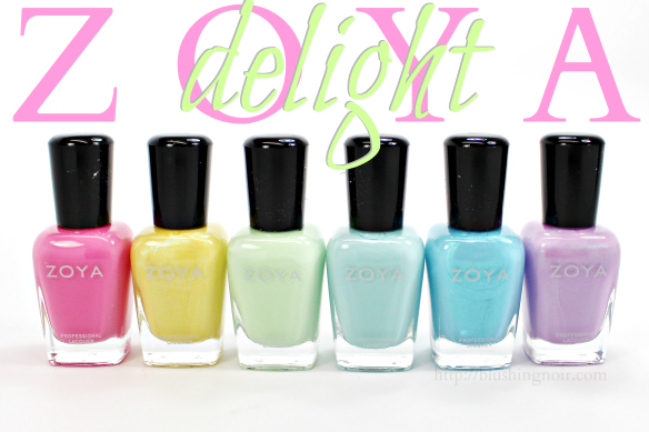Zoya Delight Nail Polish Swatches Review