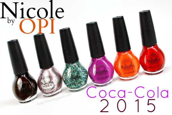 Nicole by OPI Coca-Cola Nail Polish Swatches + Review