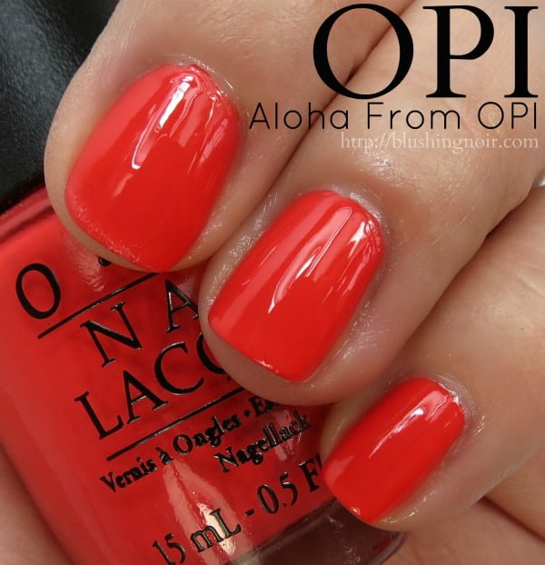 OPI Hawaii Nail Polish Collection Swatches