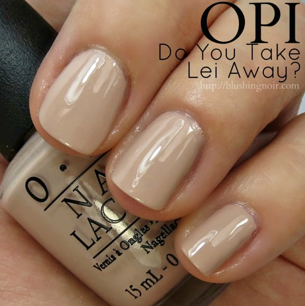 Almost Opaque In One Coat Perfect Two I Love This Cool Beige Cream Shade Just Want To Paint A Neon Flower Right Smack The Center Of It