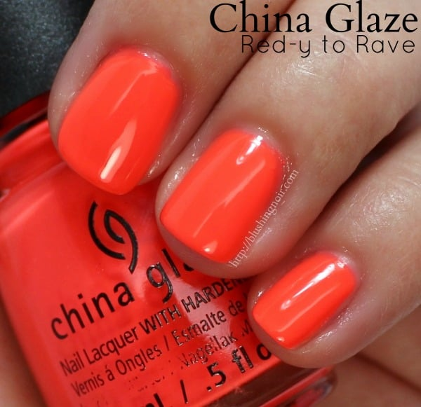 China Glaze Electric Nights Neon Collection Nail Polish Swatches + ...