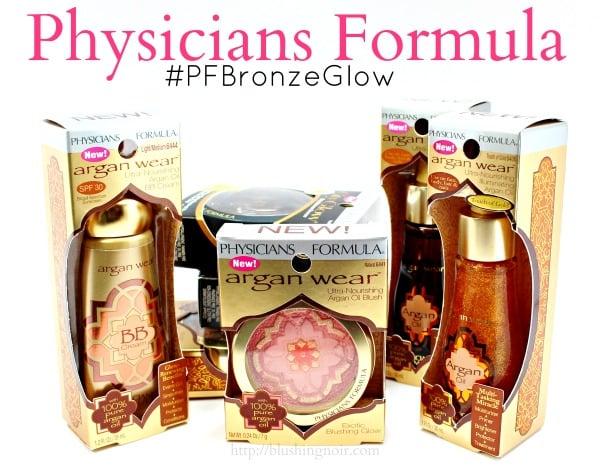 Physicians Formula swatches #PFBronzeGlow #WalmartGlam