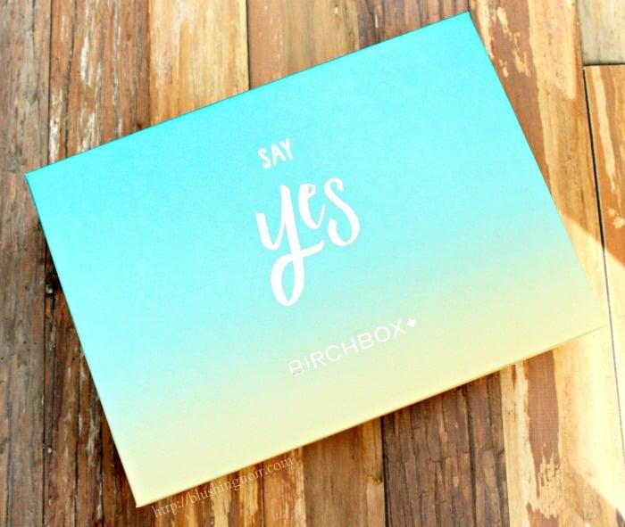 Birchbox Say Yes