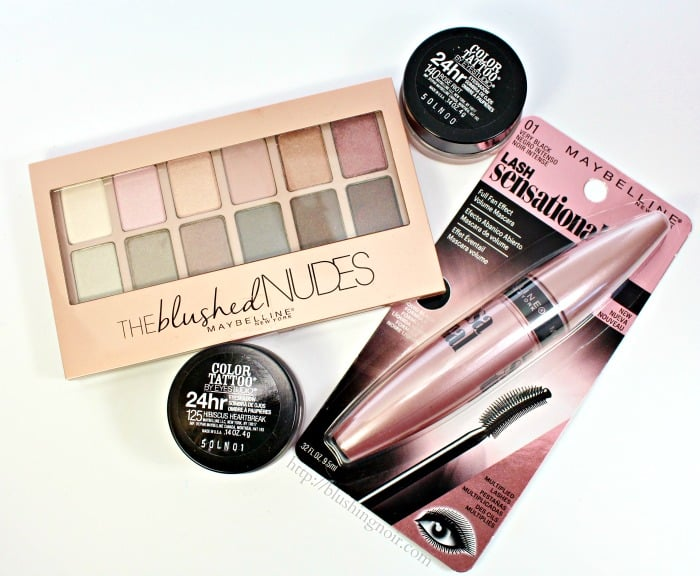 Maybelline The Blushed Nudes Palette Spring 2015