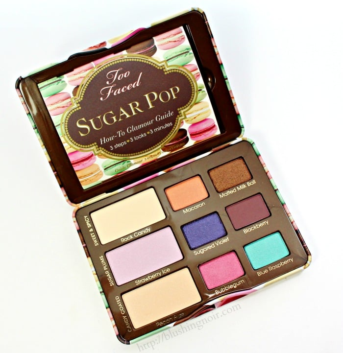 Too Faced Sugar Pop Palette Swatches, Review + FOTD // Makeup Wars