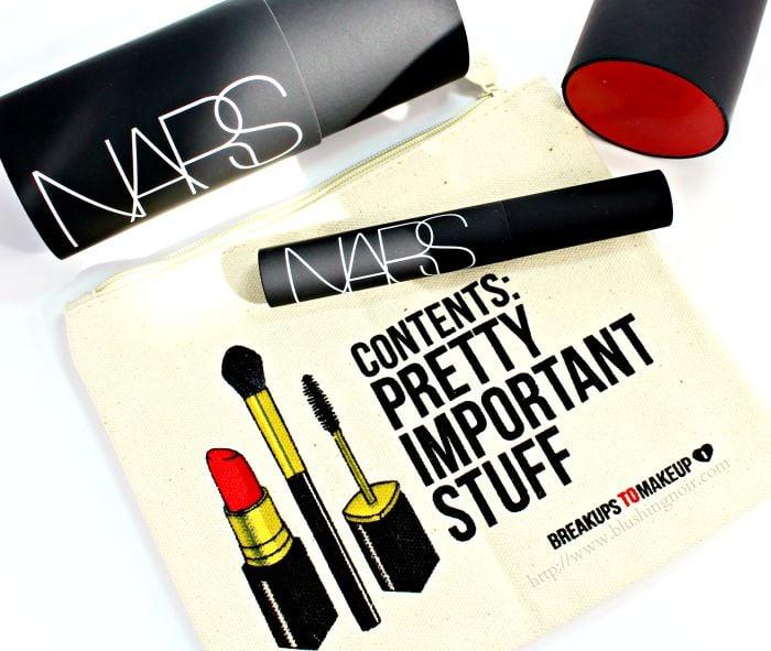 NARS Audacious Mascara Swatches + Review #beAudacious