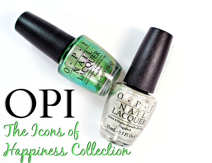 OPI The Icons of Happiness Collection Coca-Cola Swatches