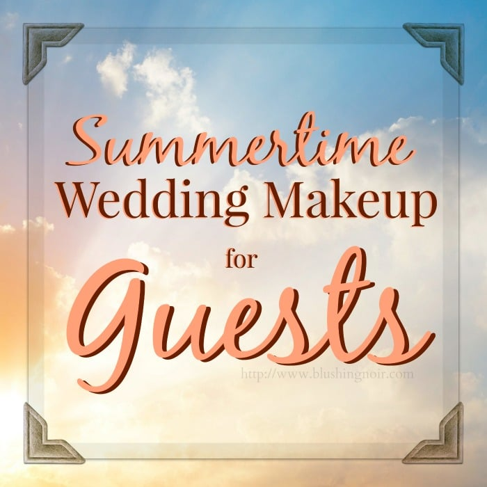 Summer Wedding Makeup for Guests // Makeup Wars