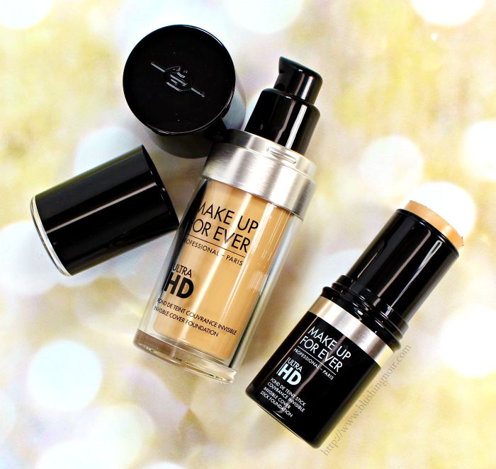 Make Up For Ever Ultra HD Foundation Swatches + Review