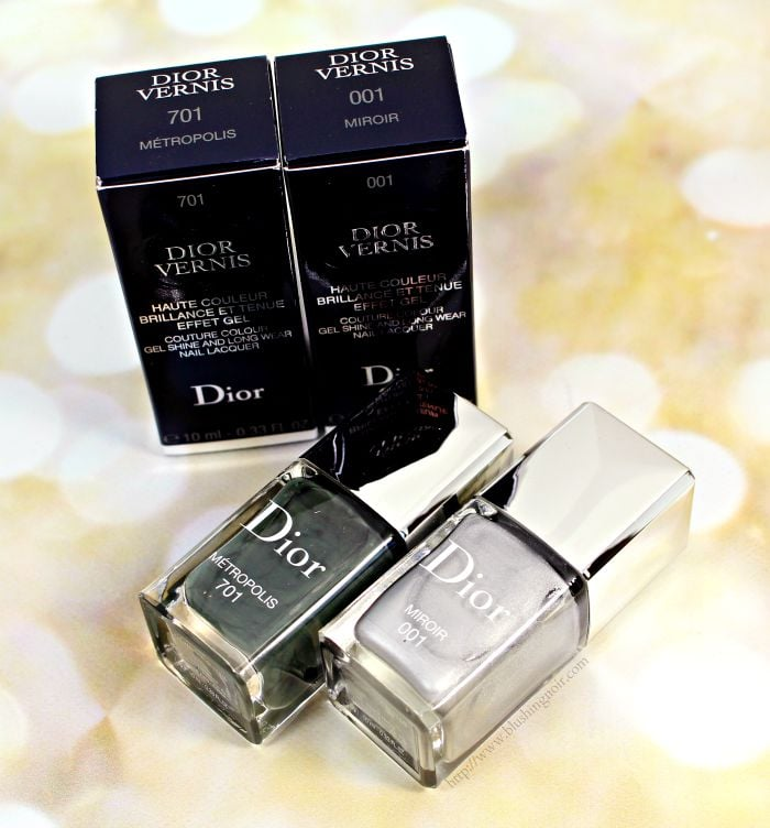 Dior Metropolis, Miroir Vernis Swatches + Review // Cosmopolite Fall 2015