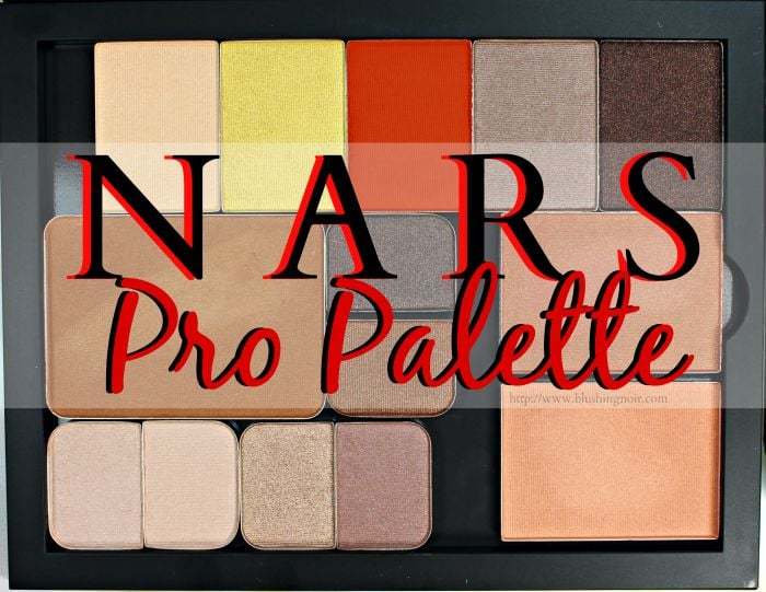 NARS Pro Palette Refill Swatches + Review