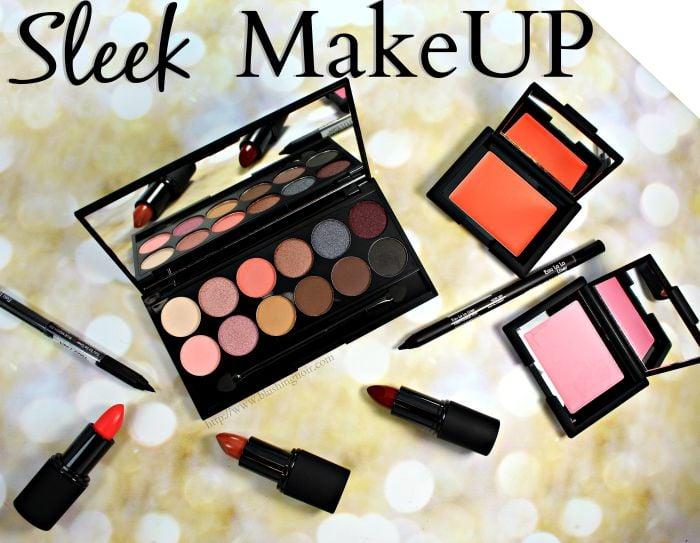 Sleek MakeUP Swatches, Review + Eye Look