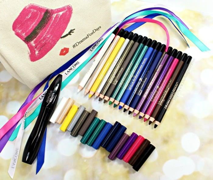 Lancôme Drama Liqui-Pencil Longwear Eyeliner Swatches + Review // #DramaForDays