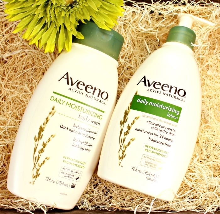 Taking the #AveenoDailyChallenge for Healthy Skin Month