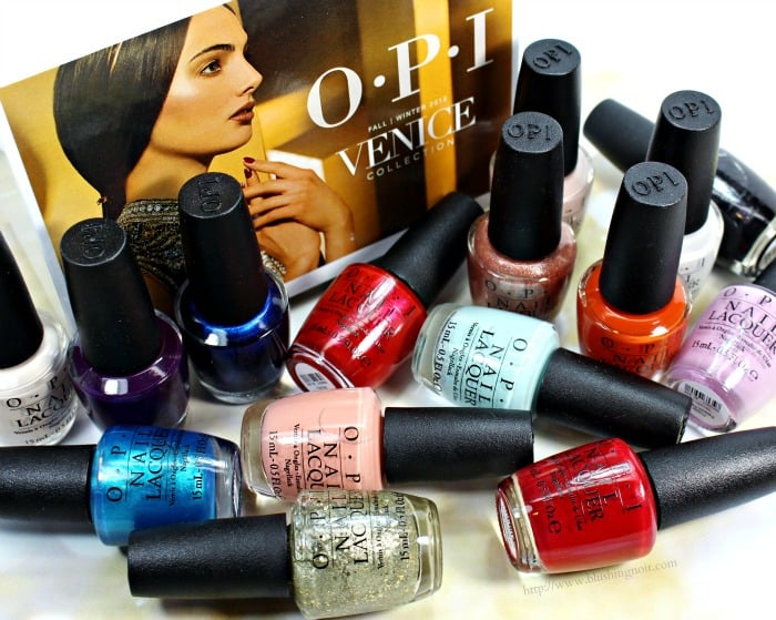 OPI Venice Nail Polish Collection Swatches + Review