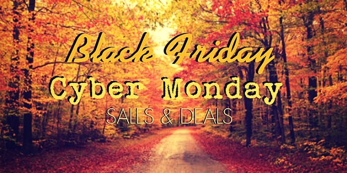 Sales, Deals & Coupon Codes for Black Friday & Cyber Monday
